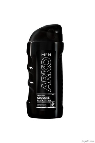 Arko Traş Kolonya 250ml Black Edition-Fres